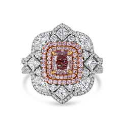 Fancy Pink Diamond Ring