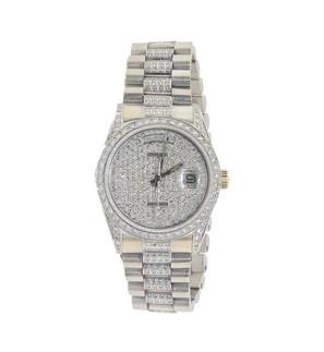 Rolex Super President Style Daydate Wristwatch