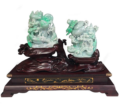 JD917 Jadeite Pair of Tall Mountain.jpg