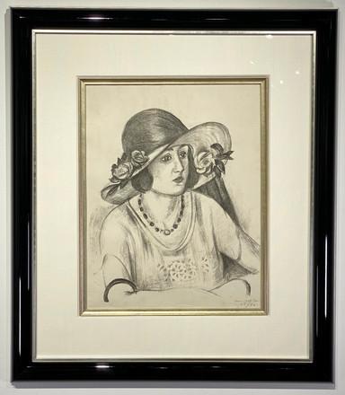Henri Matisse La Capeline de paille d'It