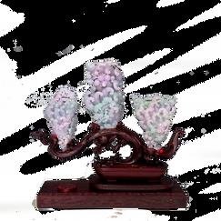 Jadeite Carving Trio