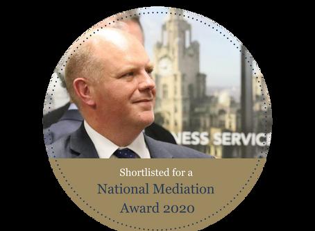 Gregory Hunt shortlisted for National Mediation Award