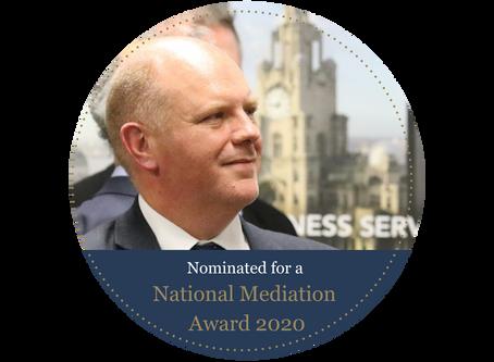 Gregory Hunt nominated for National Mediation Award