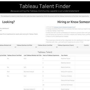 Tableau Talent Finder - Highlight Post #2