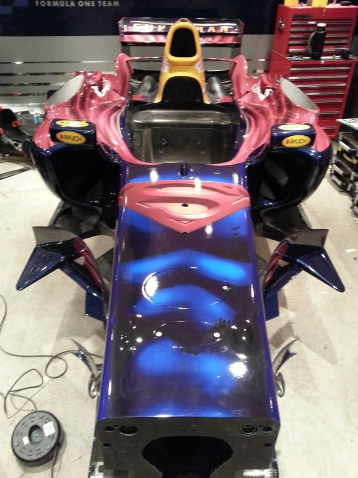 RedBull F1 Superman Repoduction