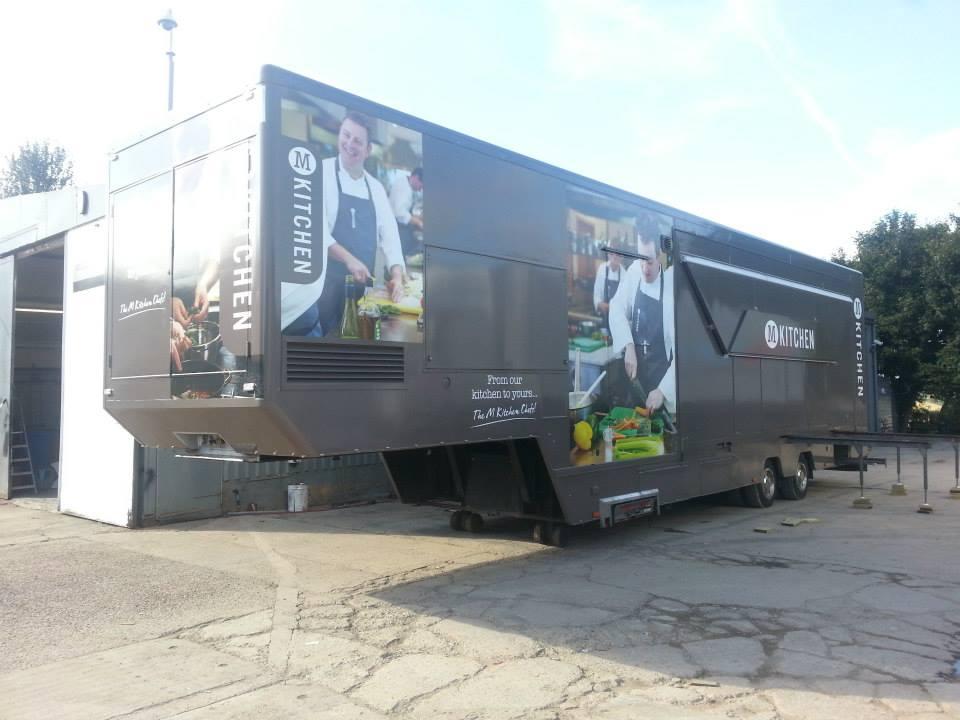 Morrisons supermarkets truck