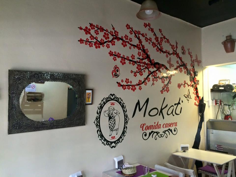 Mokati Restaurant Wall Graphics