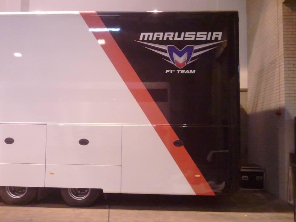 Marussia F1 truck