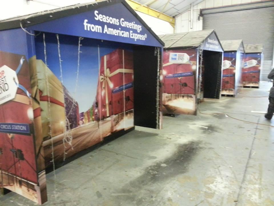 Printed hut wrap