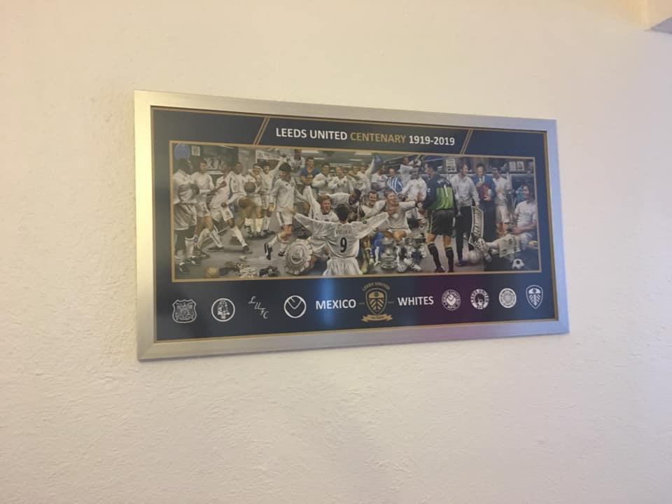 Leeds United Centenary print