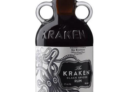 The Kraken Black Spiced 750ml