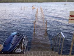 Dock Won't Float Away