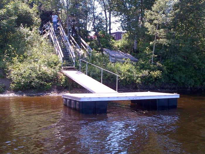 Floating Dock St John River