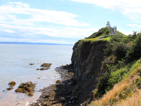BAY OF FUNDY AT CAPE ENRAGE