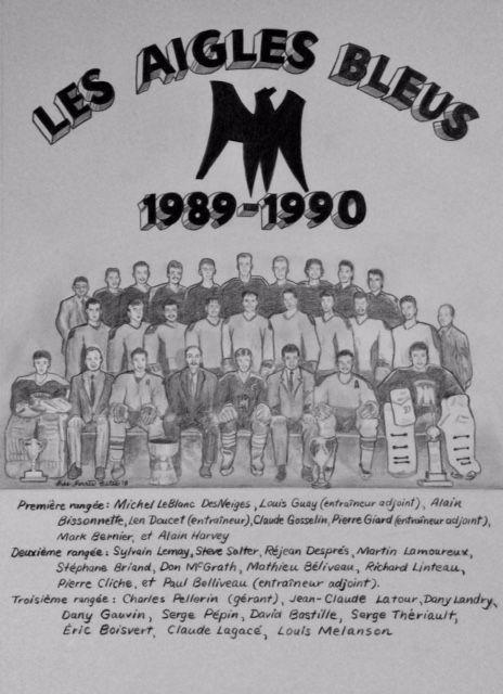 Les Aigles Bleus 1989-1990 fr