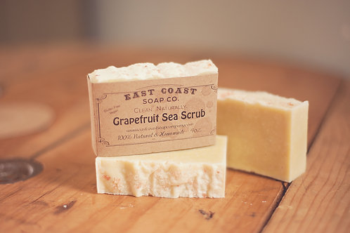 Grapefruit Sea Scrub