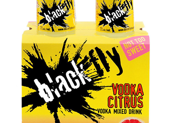 Black Fly Citrus Mixed 4 Pack