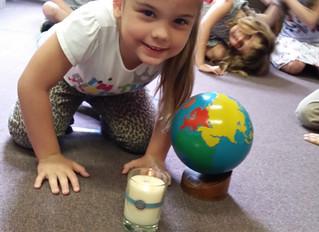 Montessori Birthday Walk Around The Sun