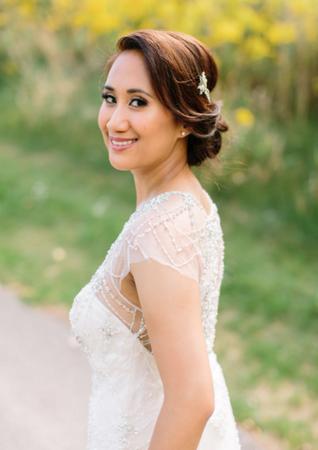 Airbrush Makeup and Hair: Nicole Ostonal Photo: Joee Wong Photography