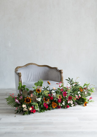 Florals: Rikki Marcone Events Lobo Florals Location: Mint Room Studios Photo: Maureen Im Photography