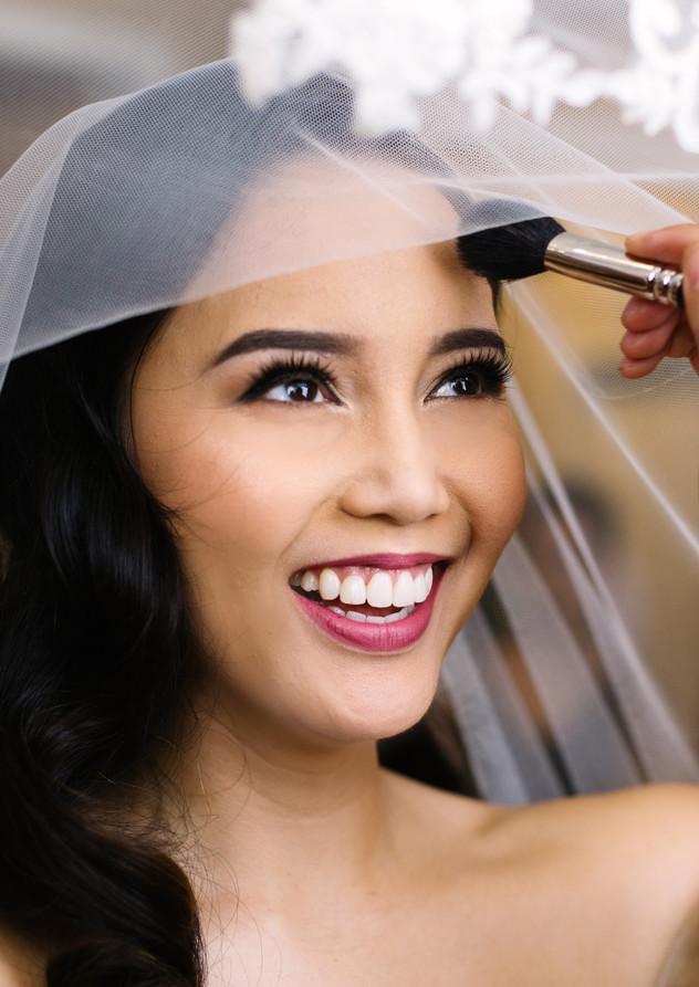 Airbrush Makeup and Hair: Nicole Ostonal Photo: Mango Studios