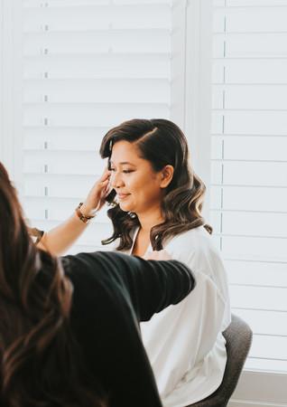 Airbrush Makeup: Nicole Ostonal for Fiona Man Hair: Uno Jo Photo: White Canvas Photography