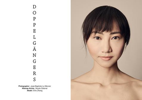 Photographer: Jean-Baptiste Le Mercier  Model: Ellie (Victoria Page Management)  Makeup and Hair: Nicole Ostonal
