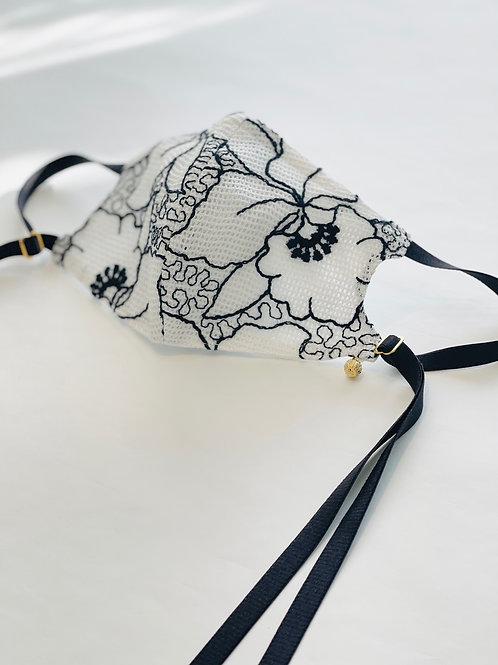 レノ刺繍レースオリジナルマスク