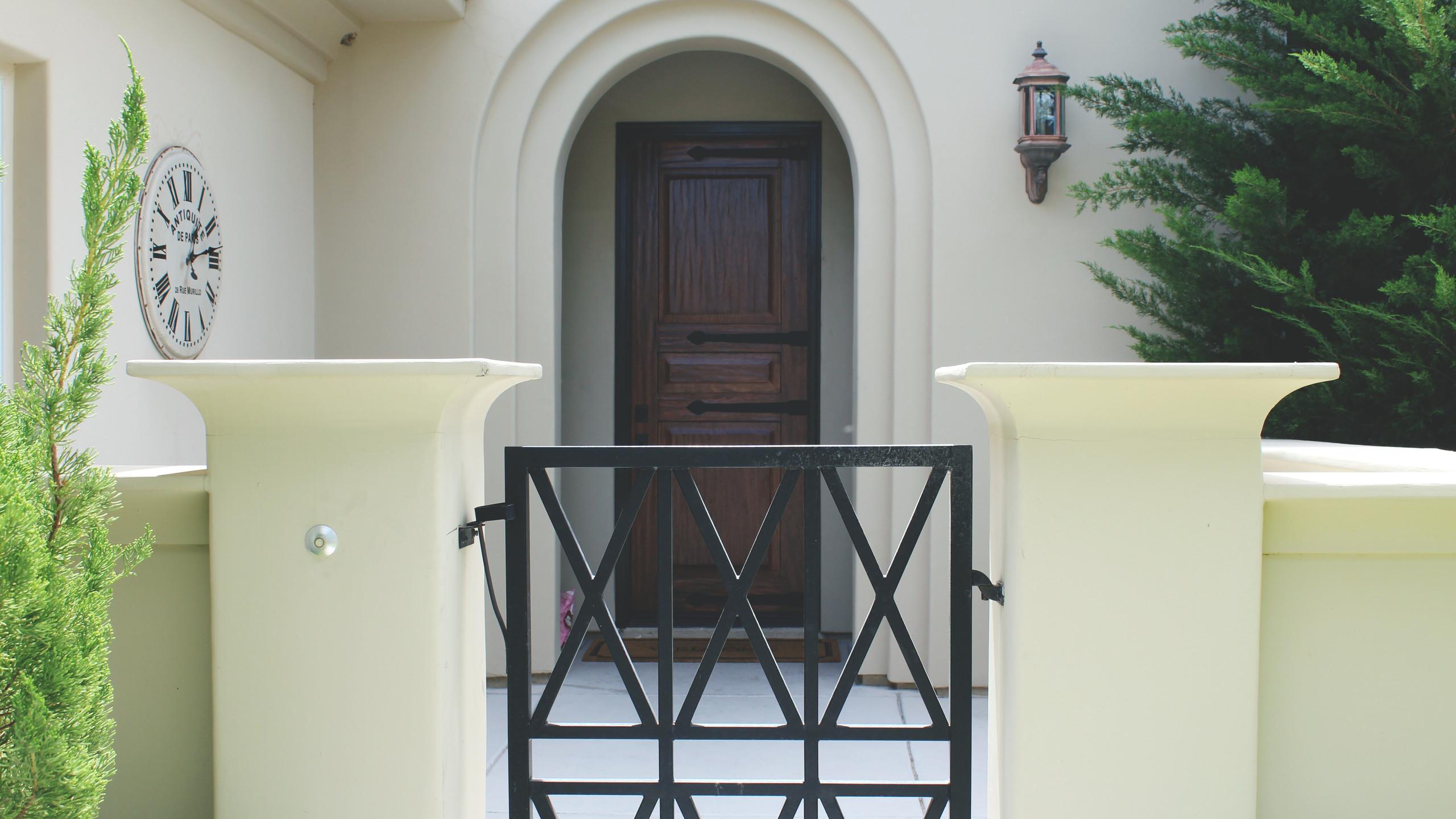 After: Front Door