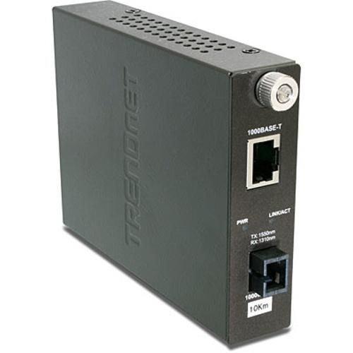 TRENDnet Intelligent 1000Base-TX to 1000Base-FX Dual Wavelength Single Mode SC F