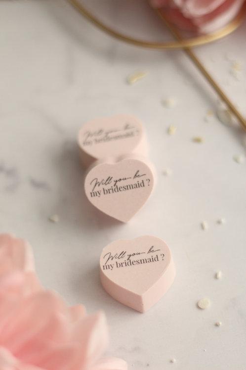 Herzpralinen Bridesmaid