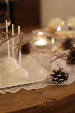 Sweet Table Winter Love