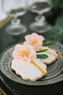 Sweet Table Peach & Gold