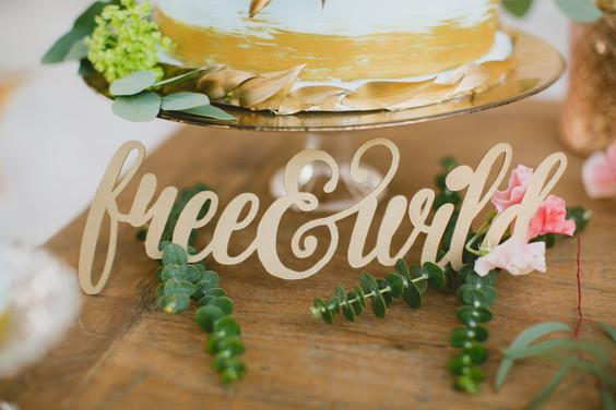Sweet Table Free & Wild