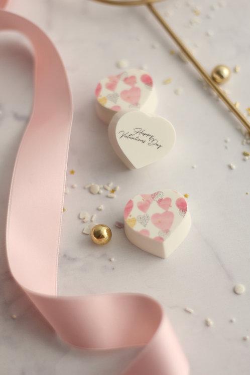 Herzpralinen Happy Valentin Roses