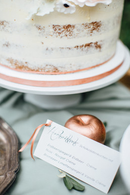 Sweet Table Copper in Love