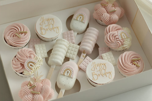 Pick up Happy Birthday Cup´n Cakes Box