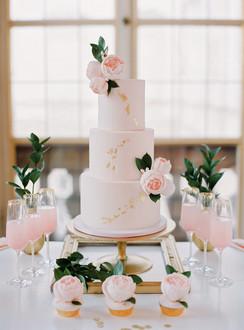 Sweet Table Blush & Gold