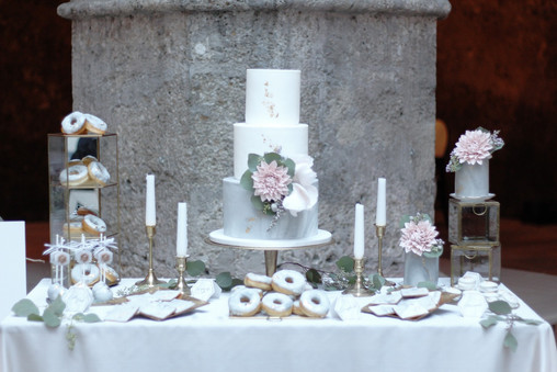 Sweet Table Blush & Marble