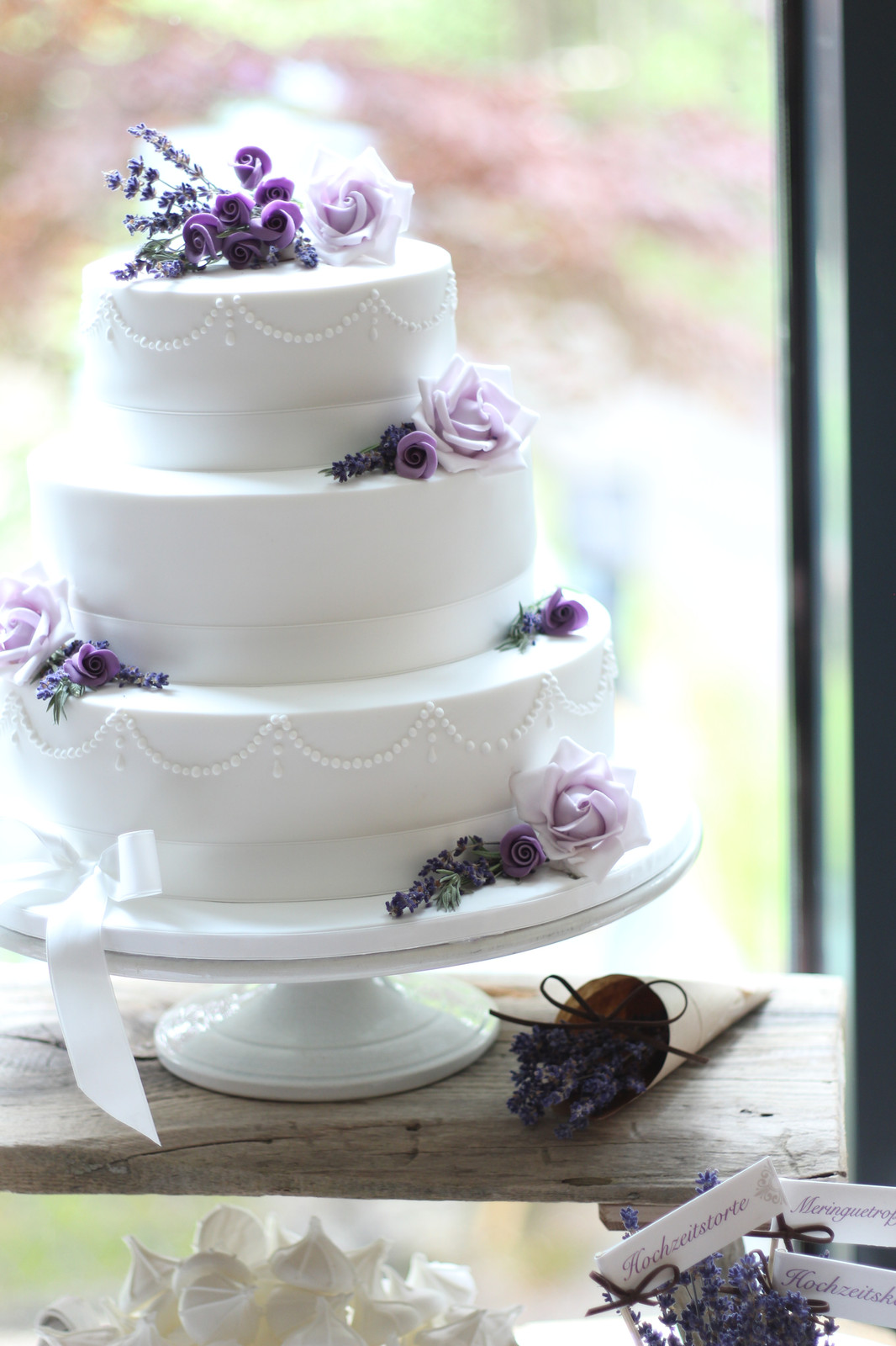Cakecouture Sweet Table Lavender Love