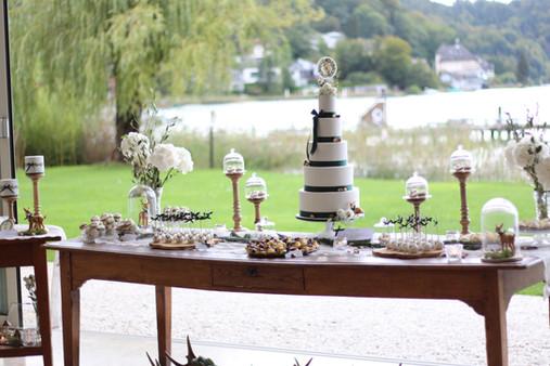 Sweet Table Auf der Jagd