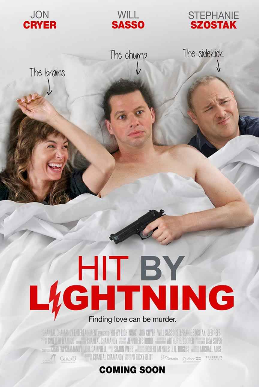 hit by lightning