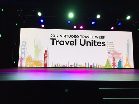 We hit the Strip for Virtuoso Travel Week
