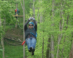 Indiana Zipline Tours, Crawfordsville Indiana