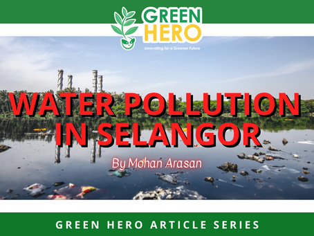 Water pollution in Selangor