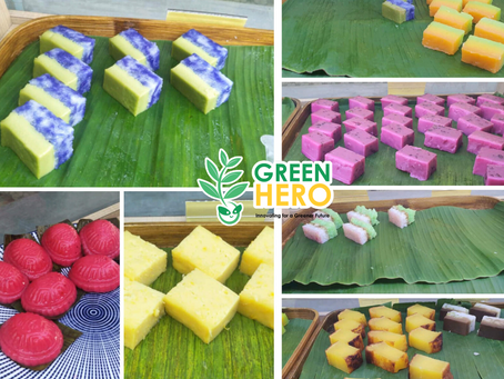 Where to get Green Hero kuih for 60 cent?