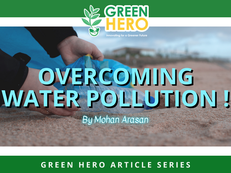 Overcoming Water Pollution!