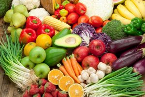 colourful and healthy super foods. Food and Mood - Changing your Diet, advice from certified counsellor in the Niagara Region, Ian Robertson