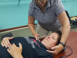 Migraine Headaches Relief: Use of a cervical vitalizer vs Blood Pressure Cuff