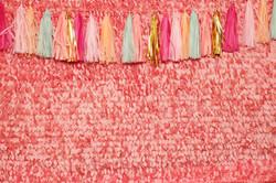 Guirnaldas de papel de seda